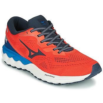 kengät Miehet Juoksukengät / Trail-kengät Mizuno WAVE SKY RISE 2 Punainen