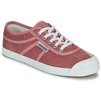 kengät Naiset Matalavartiset tennarit Kawasaki CORDUROY Vaaleanpunainen