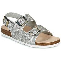 kengät Tytöt Sandaalit ja avokkaat Pepe jeans BIO BASIC GLITTER Hopea / Glitter