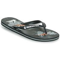 kengät Miehet Varvassandaalit Quiksilver MOLOKAI EVERYDAY Musta