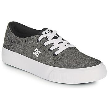 kengät Pojat Skeittikengät DC Shoes TRASE B SHOE XSKS Harmaa