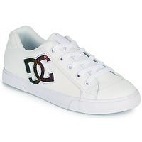 kengät Naiset Skeittikengät DC Shoes CHELSEA J Valkoinen / Vaaleanpunainen