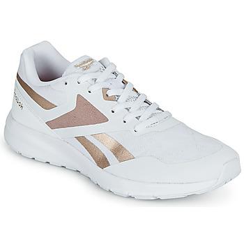 kengät Naiset Juoksukengät / Trail-kengät Reebok Sport REEBOK RUNNER 4.0 Valkoinen / Kulta