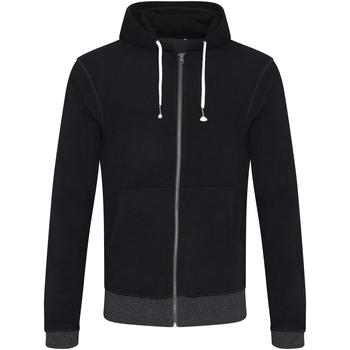 vaatteet Miehet Svetari Ecologie EA051 Black/Charcoal