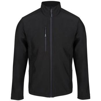 vaatteet Miehet Ulkoilutakki Regatta Honestly Made TRA600 Black