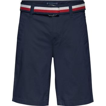 vaatteet Pojat Shortsit / Bermuda-shortsit Tommy Hilfiger SORTA Laivastonsininen