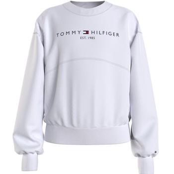 vaatteet Tytöt Svetari Tommy Hilfiger THUBOR Valkoinen