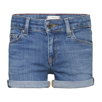 vaatteet Tytöt Shortsit / Bermuda-shortsit Tommy Hilfiger KG0KG05773-1A4 Blue