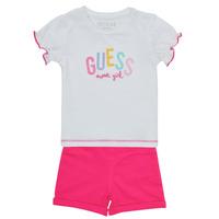 vaatteet Tytöt Kokonaisuus Guess A1GG07-K6YW1-TWHT Monivärinen