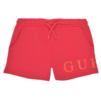 vaatteet Tytöt Shortsit / Bermuda-shortsit Guess K1GD08-KAN00-C448 Vaaleanpunainen