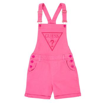 vaatteet Tytöt Jumpsuits / Haalarit Guess J1GK12-WB5Z0-JLPK Vaaleanpunainen