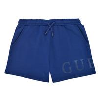vaatteet Tytöt Shortsit / Bermuda-shortsit Guess J1GD00-KAN00-PSBL Laivastonsininen
