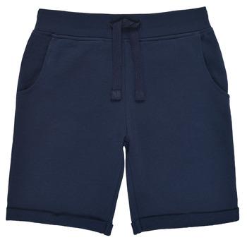 vaatteet Pojat Shortsit / Bermuda-shortsit Guess N93Q18-K5WK0-C765 Laivastonsininen