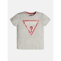 vaatteet Pojat Lyhythihainen t-paita Guess L73I55-K5M20-M90 Harmaa