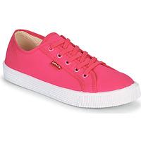 kengät Naiset Matalavartiset tennarit Levi's MALIBU BEACH S Vaaleanpunainen