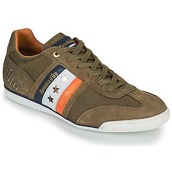 kengät Miehet Matalavartiset tennarit Pantofola d'Oro IMOLA CANVAS UOMO LOW Khaki