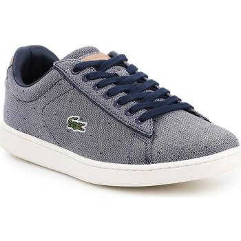 kengät Naiset Matalavartiset tennarit Lacoste Carnaby Evo 218 3 SPW 7-35SPW0018B98 navy , white