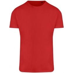 vaatteet Miehet Lyhythihainen t-paita Ecologie EA004 Fire Red