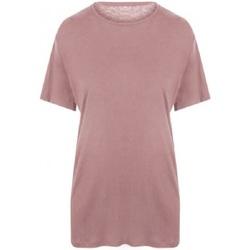 vaatteet Miehet Lyhythihainen t-paita Ecologie EA002 Dusty Pink