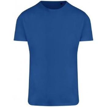 vaatteet Miehet Lyhythihainen t-paita Ecologie EA004 Royal Blue