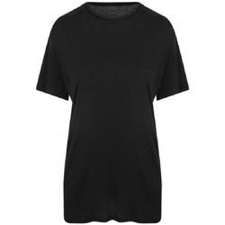 vaatteet Miehet Lyhythihainen t-paita Ecologie EA002 Jet Black