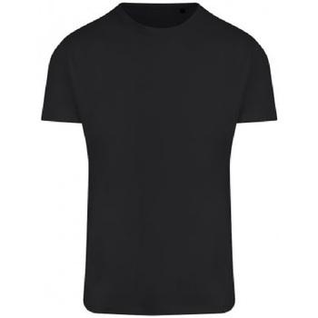vaatteet Miehet Lyhythihainen t-paita Ecologie EA004 Jet Black
