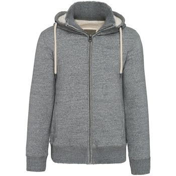 vaatteet Miehet Svetari Kariban Vintage K2312 Slub Grey Heather