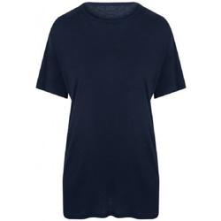 vaatteet Miehet Lyhythihainen t-paita Ecologie EA002 Navy