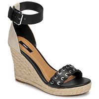 kengät Naiset Sandaalit ja avokkaat Only AMELIA 12 Musta