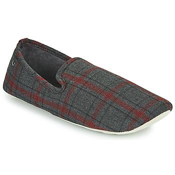 kengät Miehet Tossut Isotoner FILOMENA Harmaa / Punainen