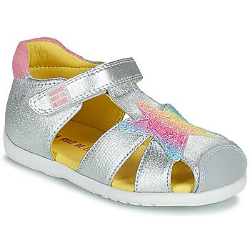 kengät Tytöt Sandaalit ja avokkaat Agatha Ruiz de la Prada HAPPY Hopea