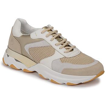 kengät Naiset Matalavartiset tennarit Lumberjack SWAY Beige / Valkoinen