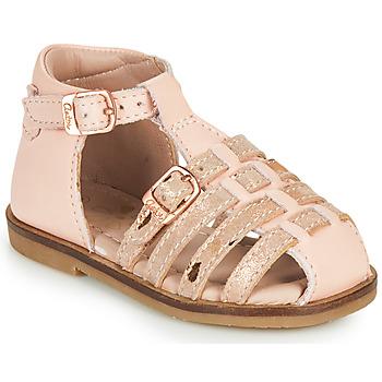 kengät Tytöt Sandaalit ja avokkaat Aster NINI Vaaleanpunainen