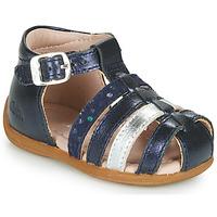 kengät Tytöt Sandaalit ja avokkaat Aster OFILIE Laivastonsininen