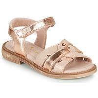kengät Tytöt Sandaalit ja avokkaat Aster TAWA Vaaleanpunainen