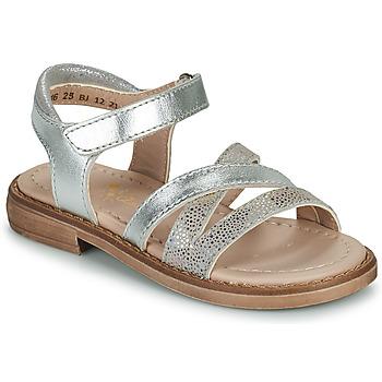 kengät Tytöt Sandaalit ja avokkaat Aster TESSIA Hopea