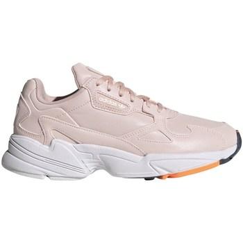 kengät Naiset Matalavartiset tennarit adidas Originals Falcon W Vaaleanpunaiset