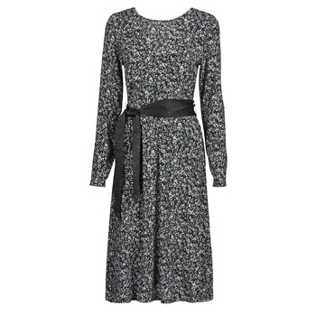 vaatteet Naiset Lyhyt mekko Le Temps des Cerises CANDY Musta
