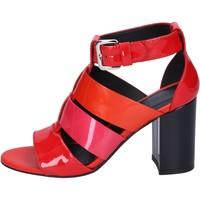kengät Naiset Sandaalit ja avokkaat Hogan BK646 Punainen