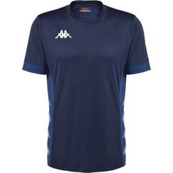 vaatteet Lyhythihainen t-paita Kappa Maillot  dervio violet