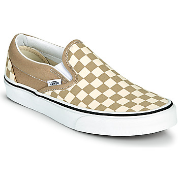 kengät Tennarit Vans CLASSIC SLIP ON Beige