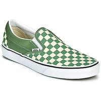 kengät Miehet Tennarit Vans CLASSIC SLIP ON Vihreä