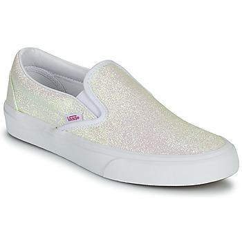 kengät Naiset Tennarit Vans CLASSIC SLIP ON Uv / Glitter / Beige / Vaaleanpunainen