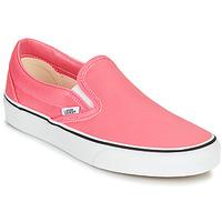 kengät Naiset Tennarit Vans CLASSIC SLIP ON Vaaleanpunainen