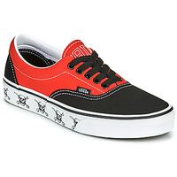 kengät Matalavartiset tennarit Vans ERA Musta / Punainen