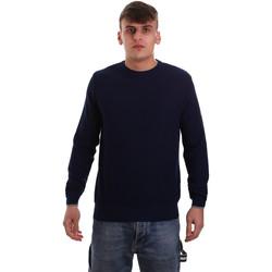 vaatteet Miehet Neulepusero Navigare NV10251 30 Sininen