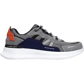 kengät Miehet Tennarit Skechers 232011 Harmaa
