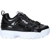 kengät Lapset Tennarit Fila 1011081 Musta
