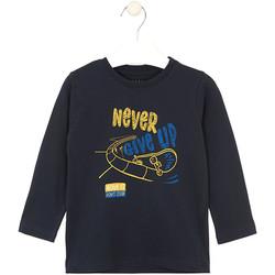 vaatteet Lapset T-paidat & Poolot Losan 025-1635AL Sininen