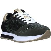 kengät Naiset Tennarit Sun68 Z40224 Vihreä